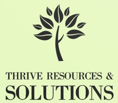 The THRIVE Resources and Solutions logo.